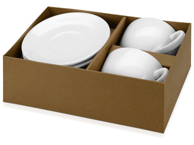 Набор: 2 чашки с блюдцами «Дабл» арт. 829856_b