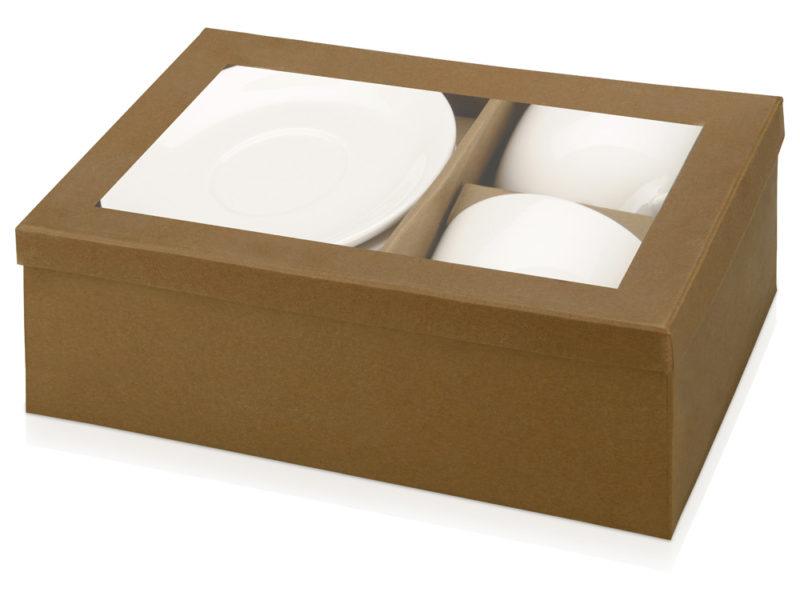 Набор: 2 чашки с блюдцами «Дабл» арт. 829856_e