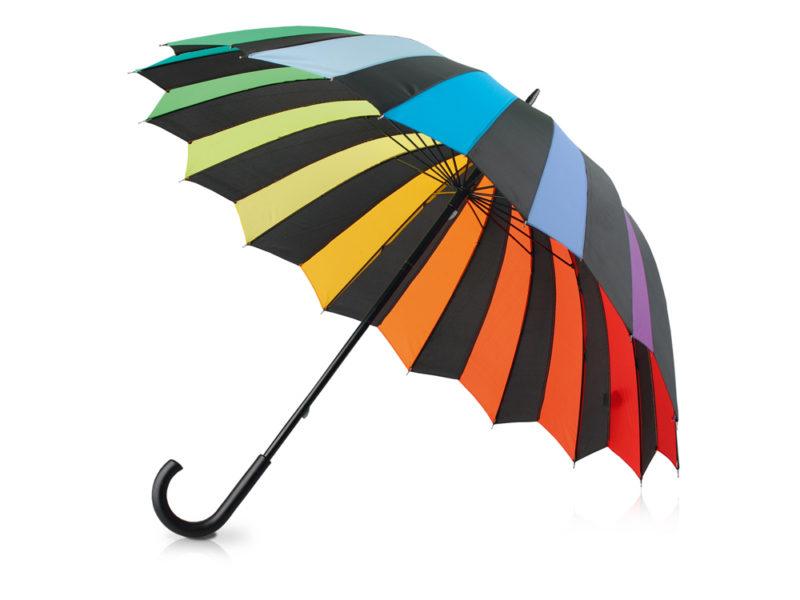 Зонт-трость «Радужный спектр» арт. 907138_a