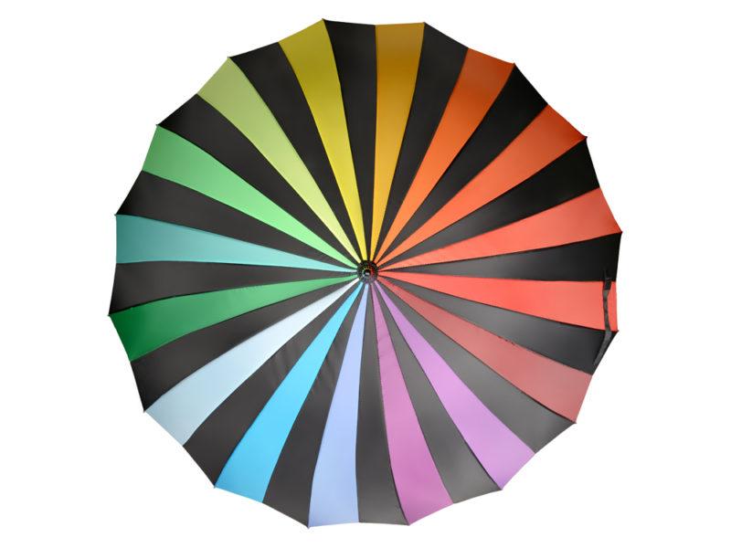 Зонт-трость «Радужный спектр» арт. 907138_f