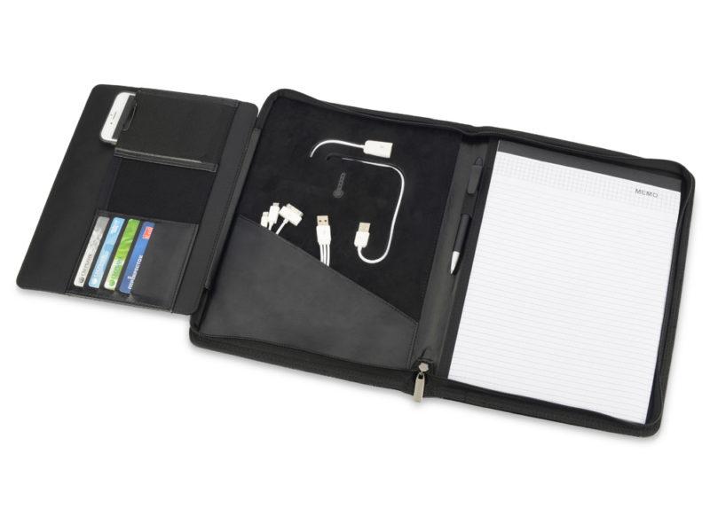 Папка для документов «Jacques» cо встроенным зарядным устройством 4000 mAh арт. 923827_b