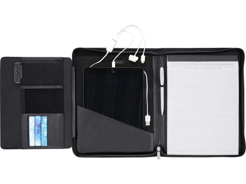Папка для документов «Jacques» cо встроенным зарядным устройством 4000 mAh арт. 923827_d