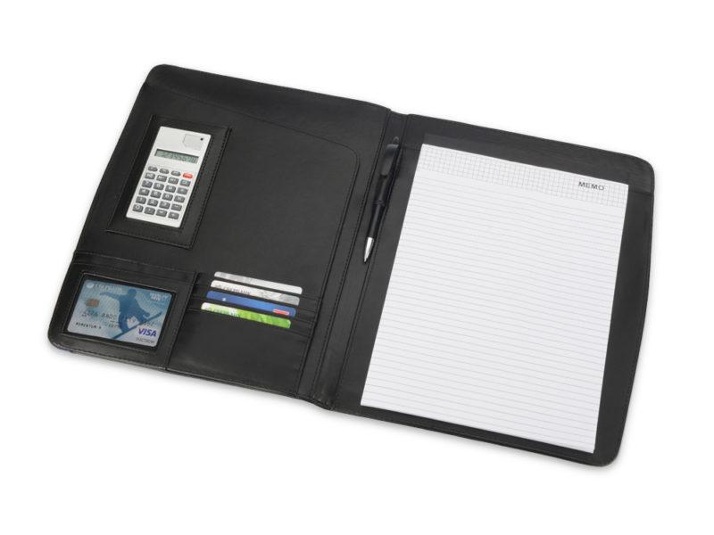 Папка для документов «Guidon» с блокнотом и калькулятором арт. 923962_c
