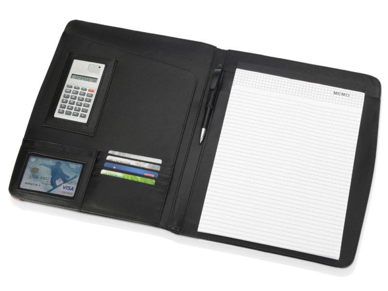 Папка для документов «Guidon» с блокнотом и калькулятором арт. 923968_c