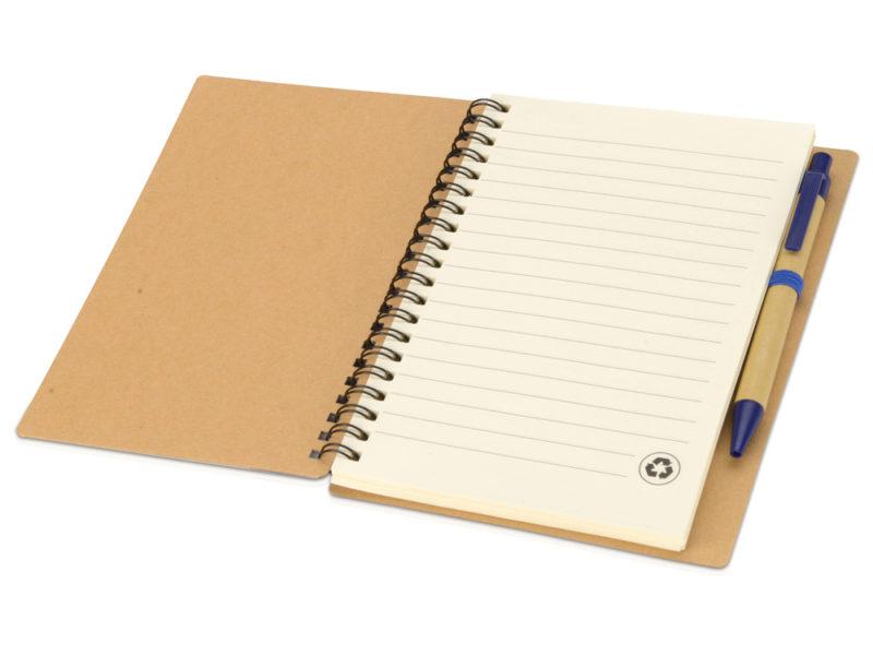 Блокнот на пружине с ручкой арт. 10626802