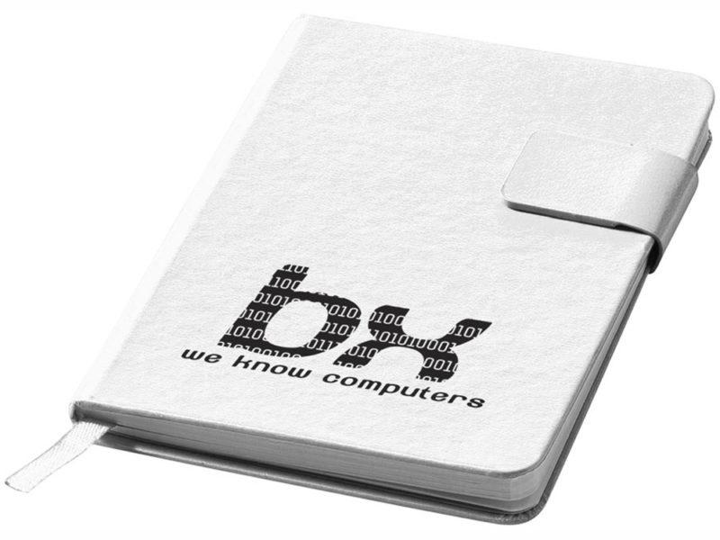 Блокнот с застежкой на магните арт. 10673203