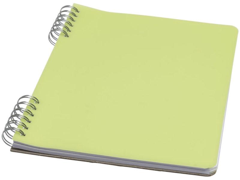 Блокнот с  мягкой обложкой на пружине арт. 10698203