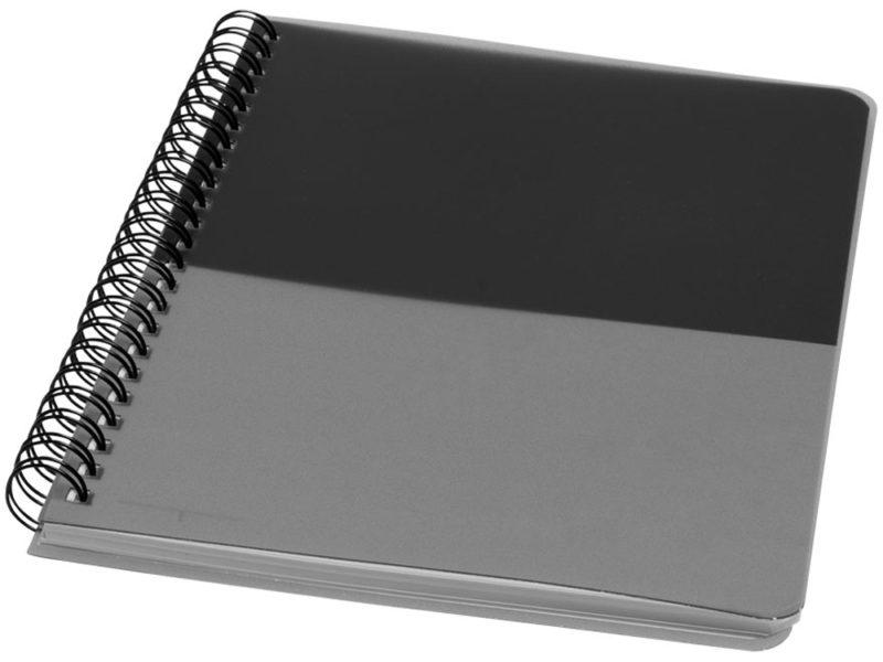 Блокнот с мягкой обложкой на пружине  арт. 10698400