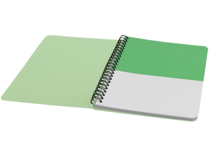 Блокнот с мягкой обложкой на пружине  арт. 10698403