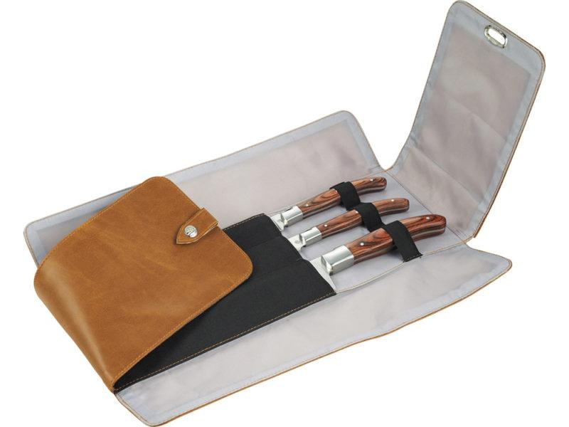 Набор кухонных ножей «Норвич» : нож шеф-повара, нож для чистки овощей, универсальный нож .арт. 40265048