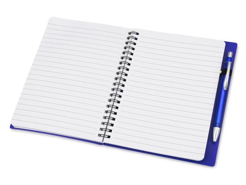 Блокнот на пружине с ручкой  арт. 413502