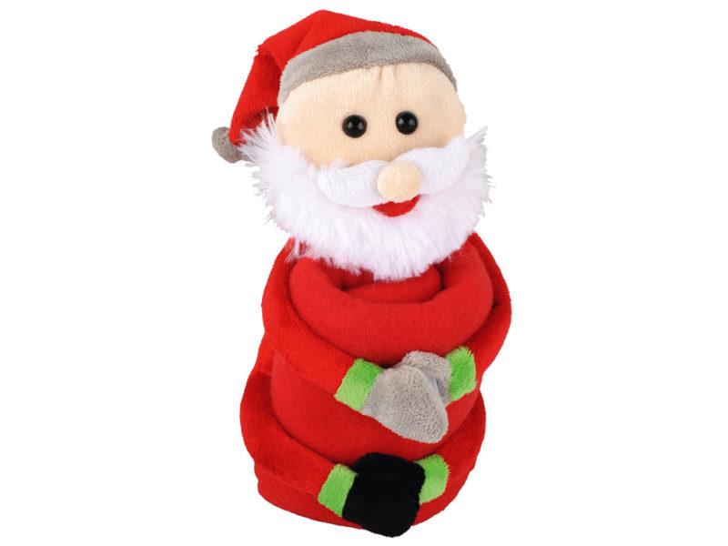 Мягкая игрушка «Дед Мороз» с пледом арт. 525201