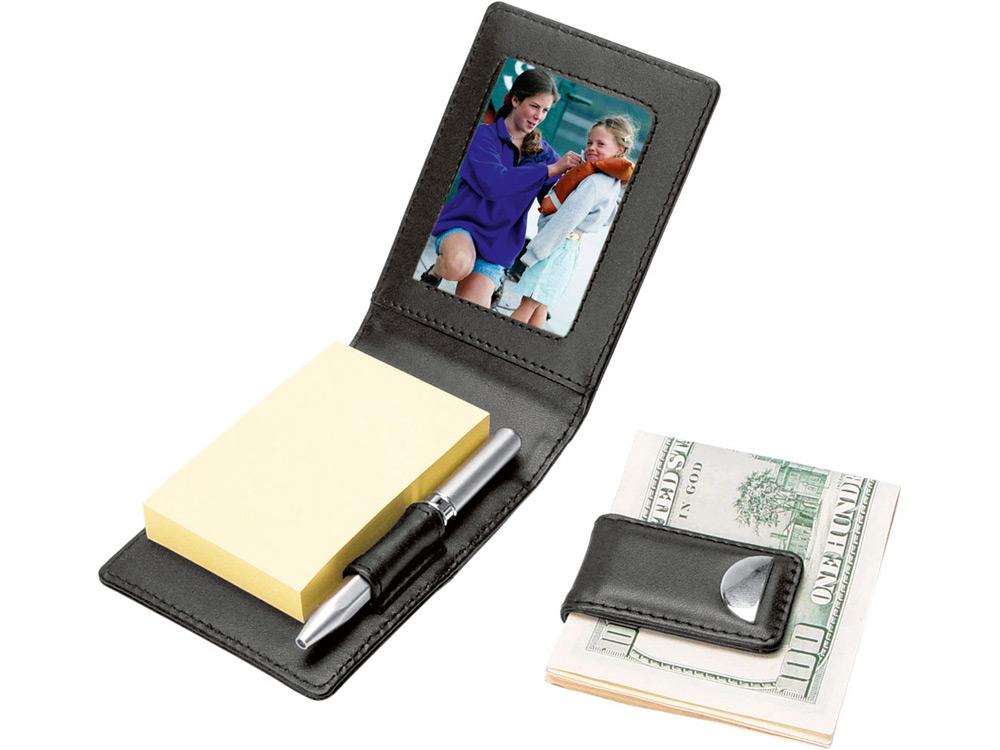 Набор: блокнот, ручка, зажим для денег арт. 630207