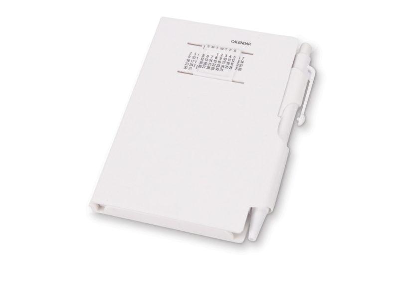 Блокнот с  календарем и ручкой арт. 789506