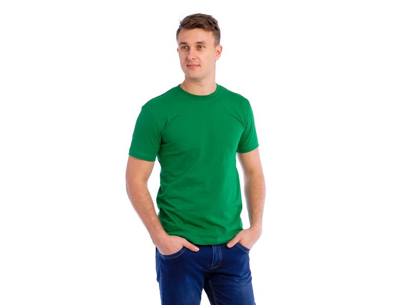Футболка светло-зелёная