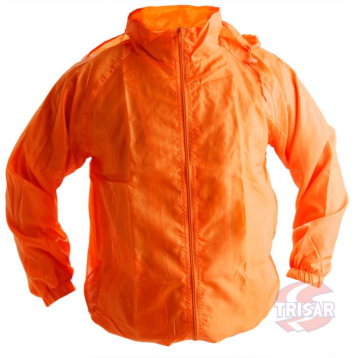 Ветровка оранжевая