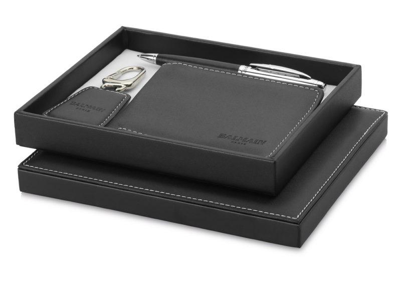 """Подарочный набор """"Millau"""": ручка, брелок, портмоне арт. 19982152"""
