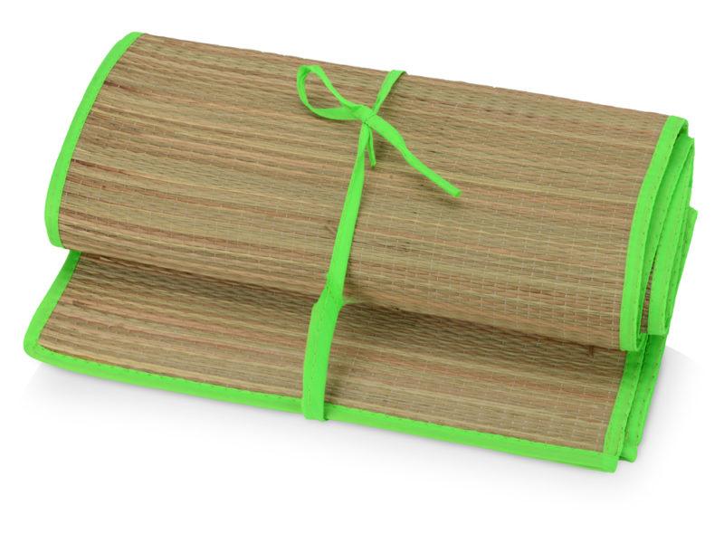 """Пляжный набор """"Тропики"""": циновка, шлепанцы, сумка арт. 836303"""