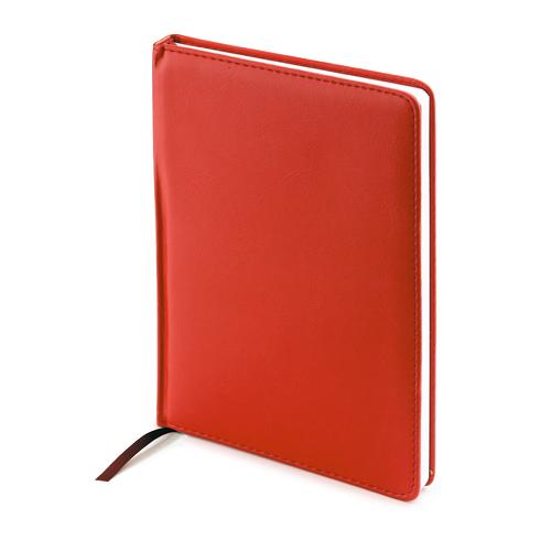 Ежедневник-недатированный-А5-LEADER-красный