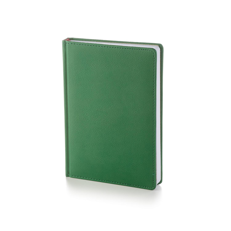 Ежедневник-недатированный-А5-LEADER-зелёный