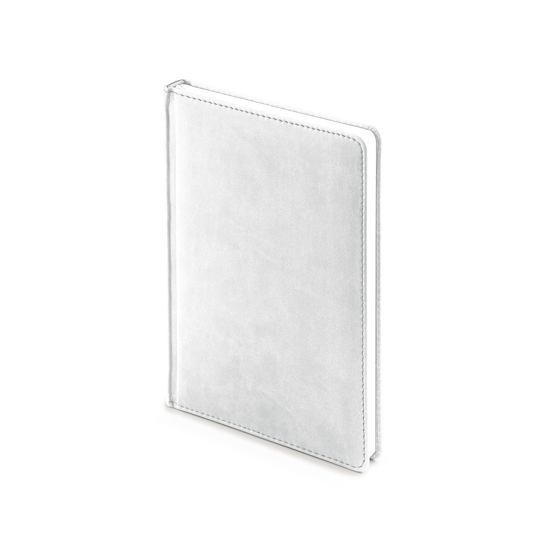 Ежедневник-недатированный-А5-VELVET-белый