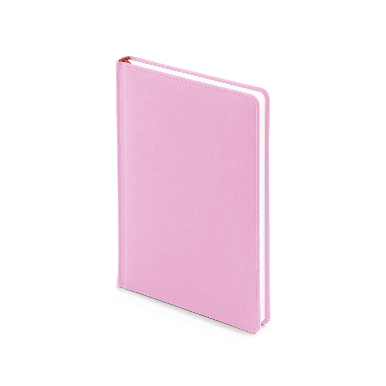 Ежедневник-недатированный-А5-VELVET-нежно-розовый