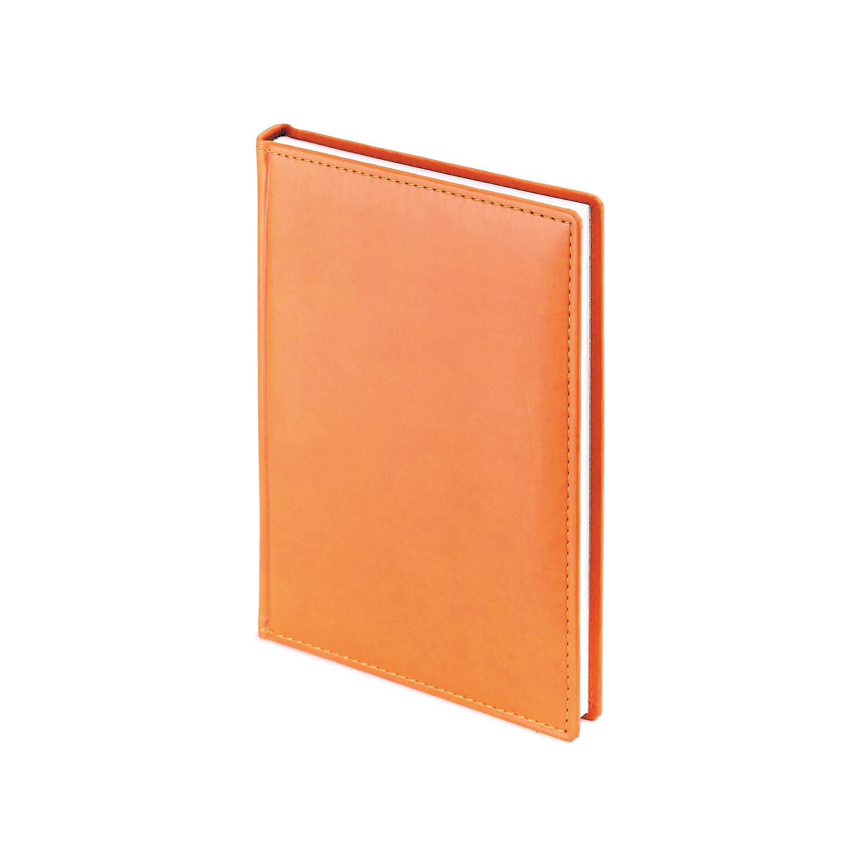 Ежедневник-недатированный-А5-VELVET-оранжевый
