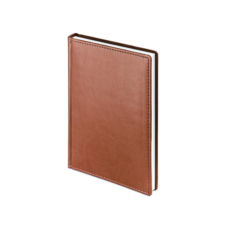 Ежедневник-недатированный-А5-VELVET-светло-коричневый
