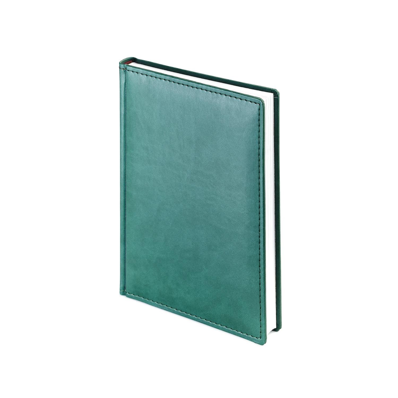 Ежедневник-недатированный-А5-VELVET-зеленый