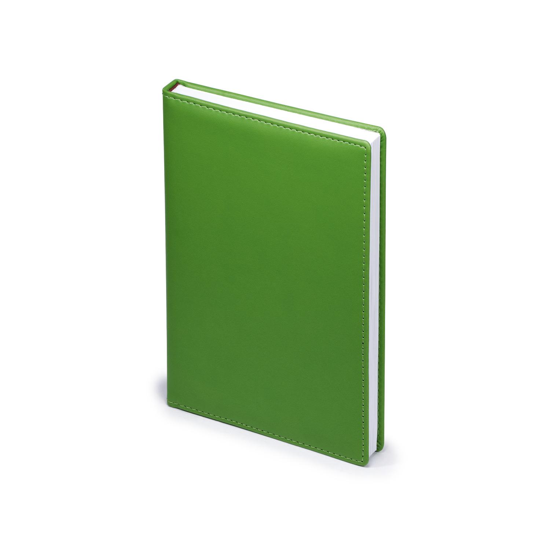 Ежедневник-недатированный-А5-VELVET-зелёный-флуор