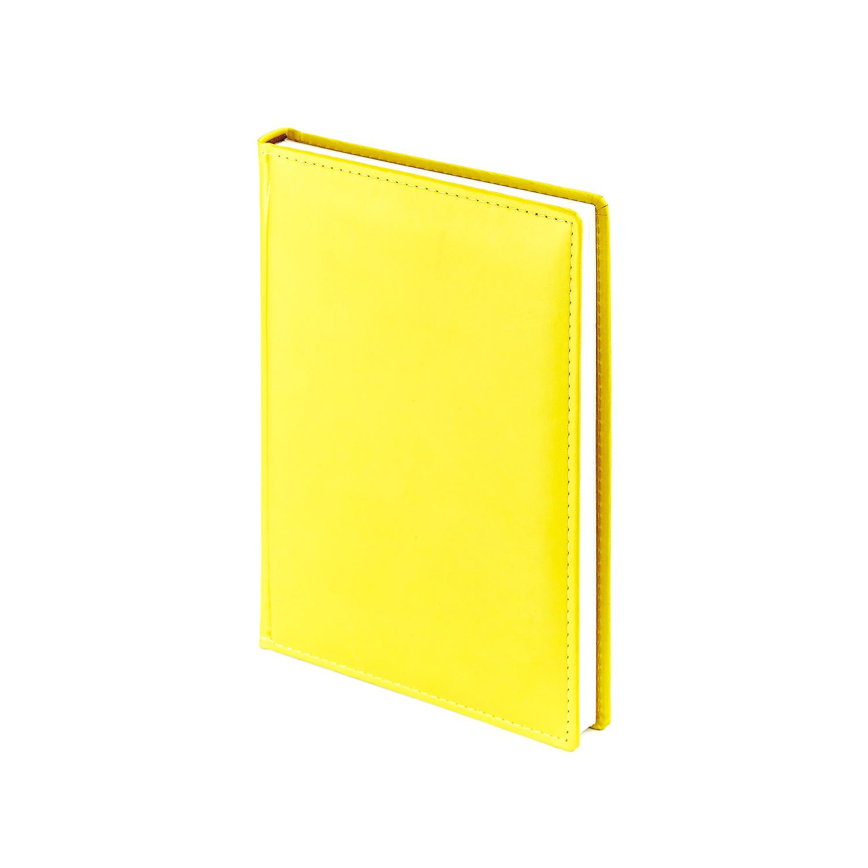 Ежедневник-недатированный-А5-VELVET-жёлтый