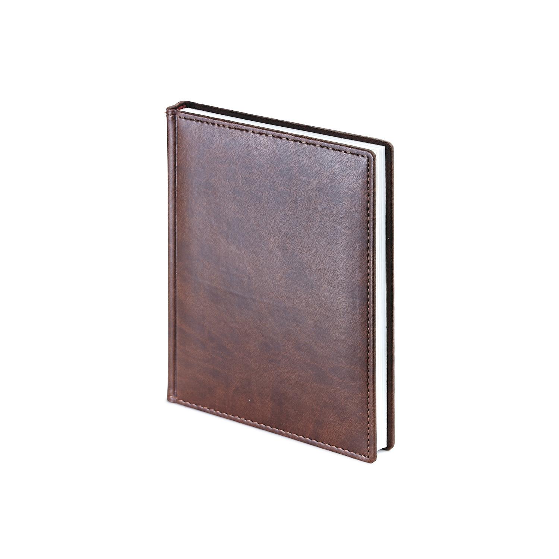 Ежедневник-недатированный-А6-VELVET-коричневый