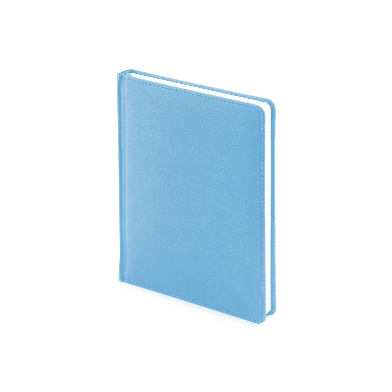 Ежедневник-недатированный-А6-VELVET-небесно-голубой