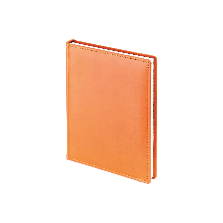 Ежедневник-недатированный-А6-VELVET-оранжевый