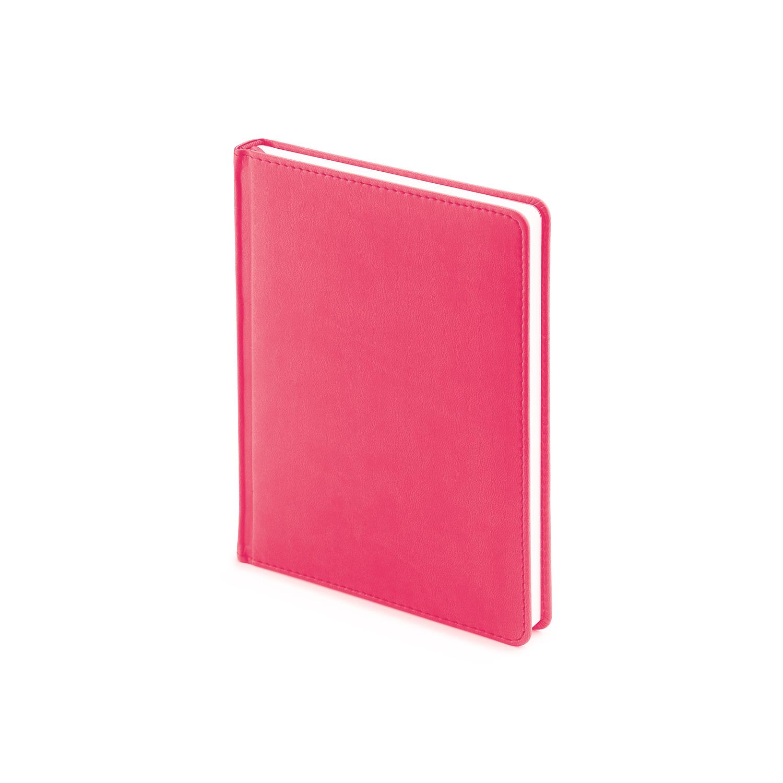 Ежедневник-недатированный-А6-VELVET-розовый