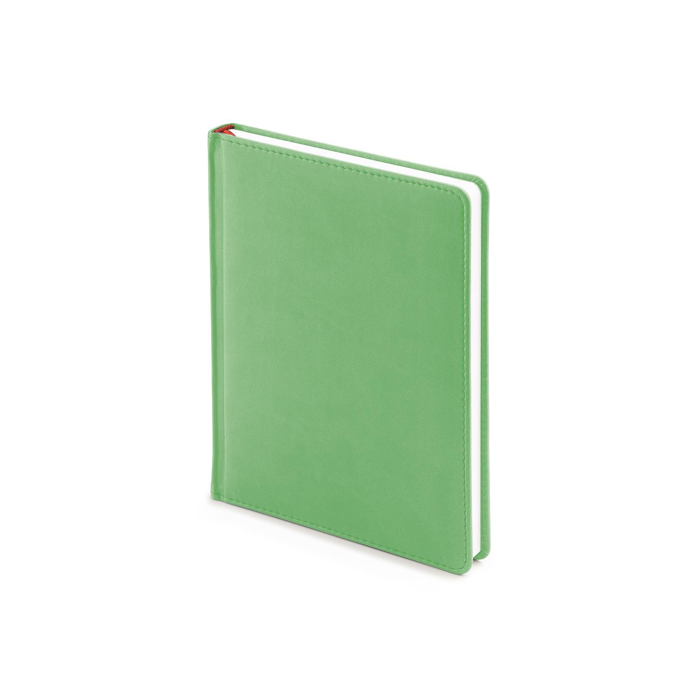 Ежедневник-недатированный-А6-VELVET-зелёный-флуор