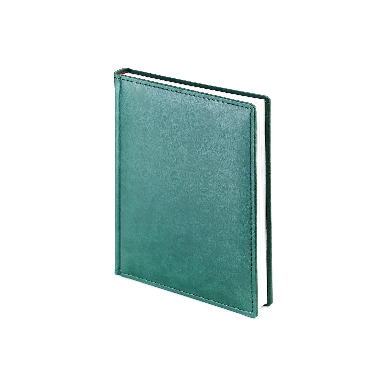 Ежедневник-недатированный-А6-VELVET-зелёный