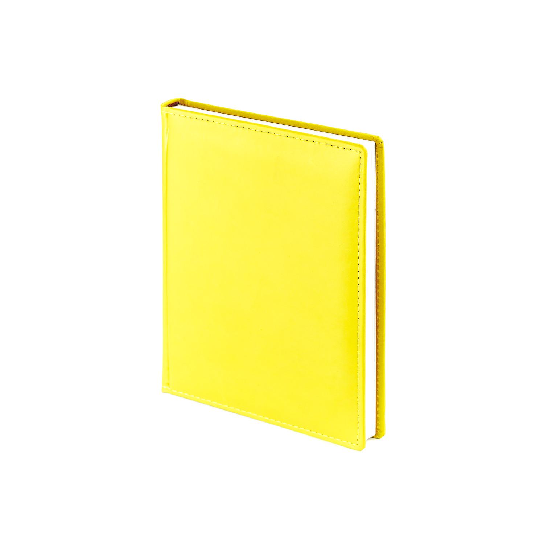Ежедневник-недатированный-А6-VELVET-жёлтый