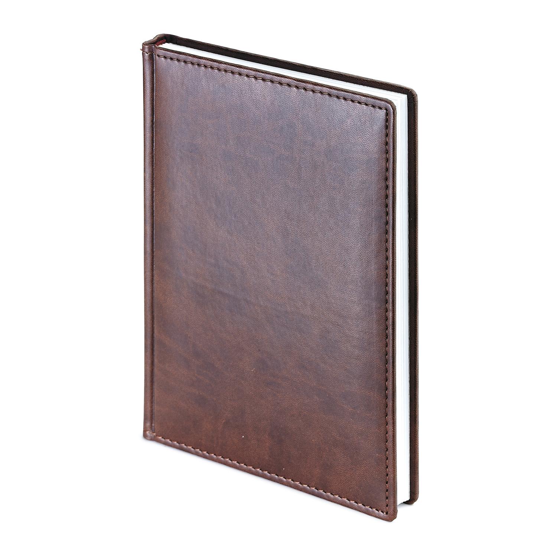 Ежедневник-недатированный-А4-VELVET-коричневый