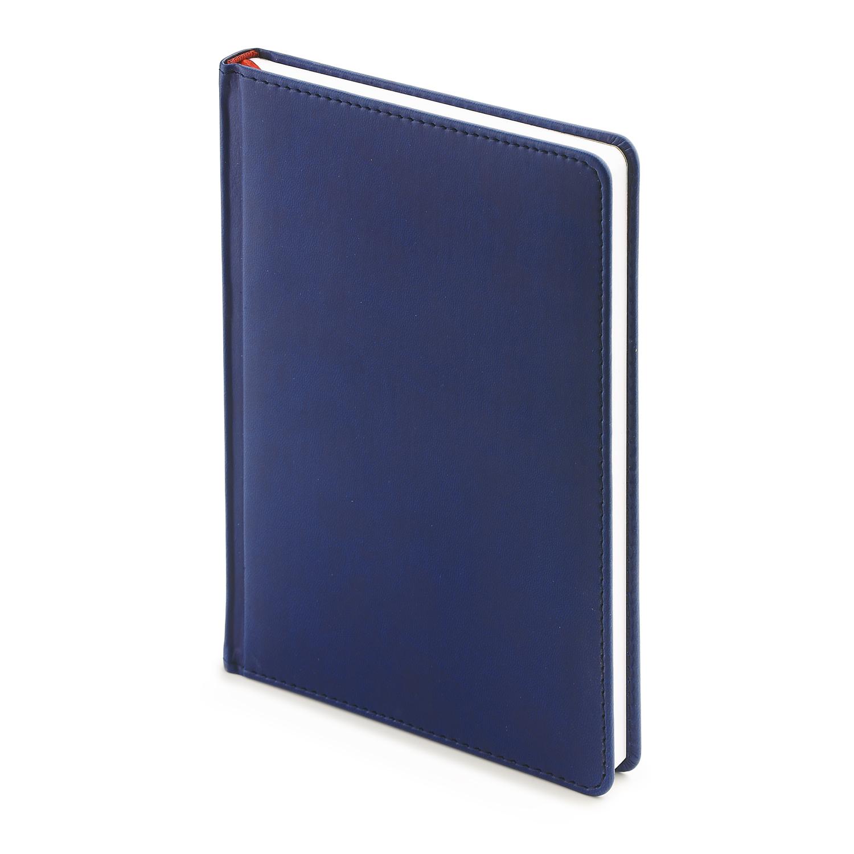 Ежедневник-недатированный-А4-VELVET-тёмно-синий