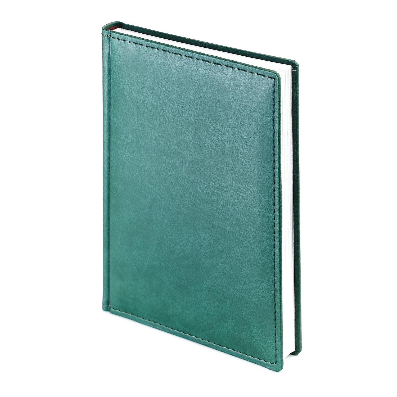 Ежедневник-недатированный-А4-VELVET-зелёный